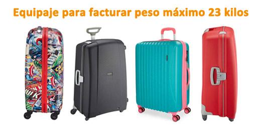 equipaje-para-facturar-peso-máximo-avion