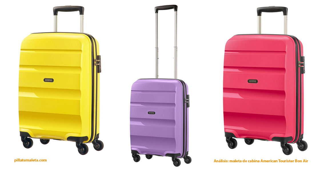 0637f1f7d ▷ American Tourister Bon Air, la mejor maleta de cabina de 2019