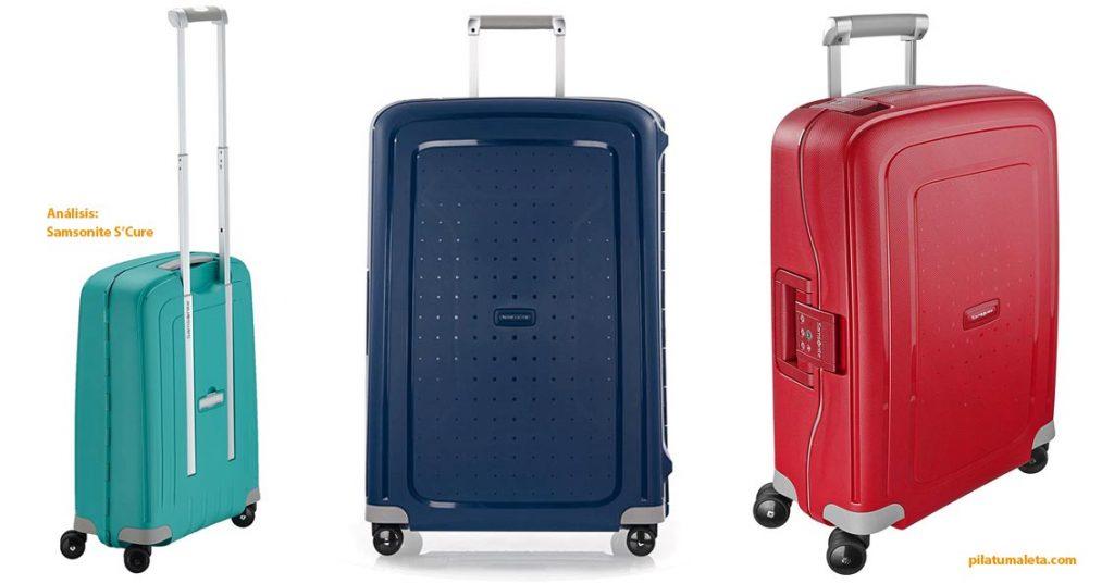 maleta-grande-Samsonite-S'Cure-equipaje-cabina compar spinner