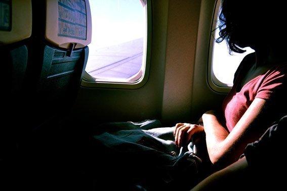 Mantente caliente o fresco dormir vuelos de larga distancia