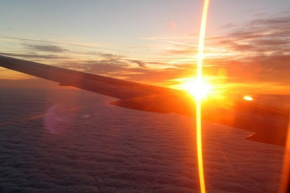 No pienses en dormir dormir vuelos de larga distancia