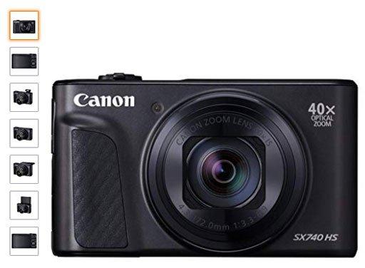 Canon-SX740-HS-camara-para-viaje