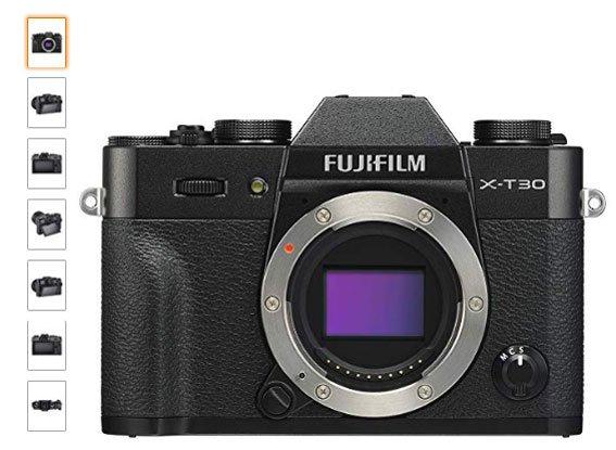 Fujifilm-X-T30-camara-para-viaje