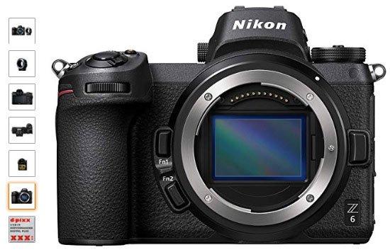 Nikon-Z6-camara-para-viaje
