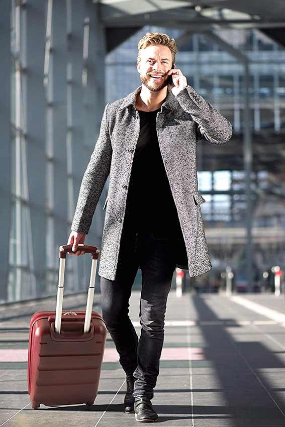 comprar maleta de mano cabina aerolite abs facil-manejo