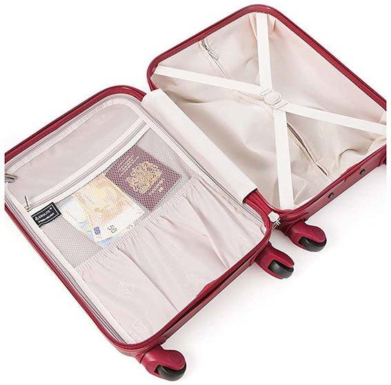 comprar maleta de mano cabina aerolite abs interior