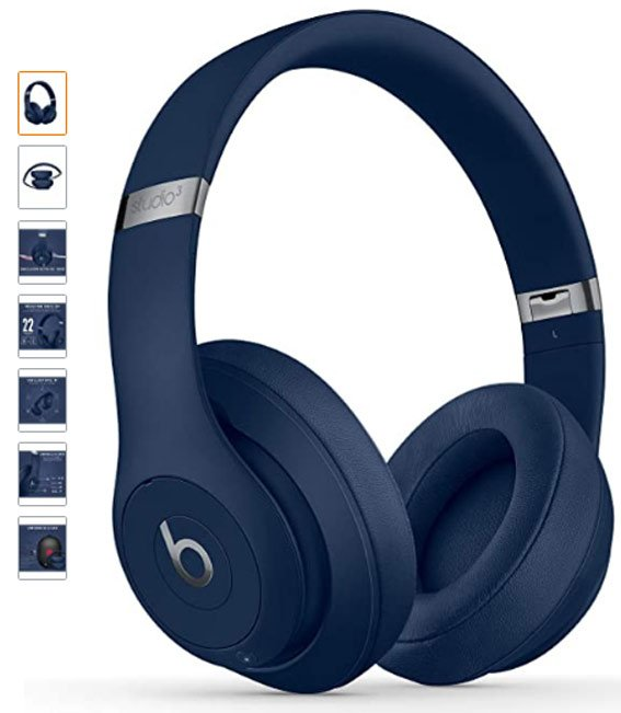 Beats Studio3 Wireless Auriculares con cancelación de ruido