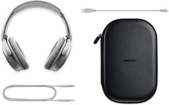 Bose QuietComfort 35 II Auriculares con cancelación de ruido bolso